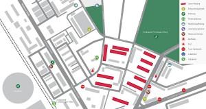 Lageplan Blumenviertel