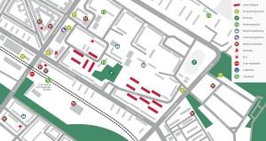 Lageplan Mühlenkiez Pieskower Weg Einsteinstraße