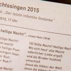 Weihnachtsfest 2015: Liedtexte für das Weihnachtssingen